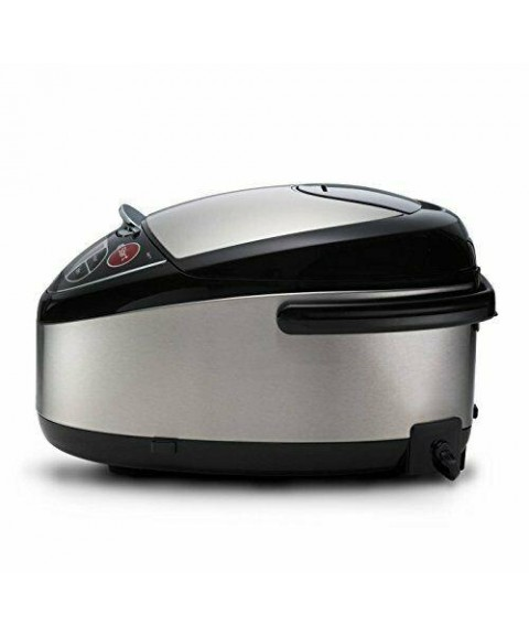 Tiger JAX-T10U-K 5.5-Cup (Uncooked) Micom Rice Cooker with Food Steamer & Slow C