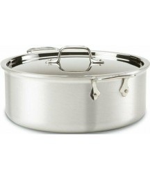 All-Clad 7508 Mc2 Master Chef 2 Stainless Steel Tri-ply Bonded Stockpot With Lid