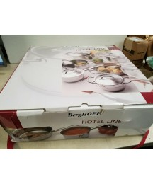 BergHOFF Hotel Line 12-Piece Cookware Set, Stainless Steel