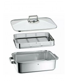 WMF Vitalis Supply Baking To Steam With Grill, Stainless Steel Polished 219.8oz