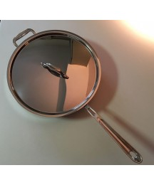 ALL CLAD 6405 All-Clad COPPER CORE Stainless Saute Pan with Handle Loop 5 Quart