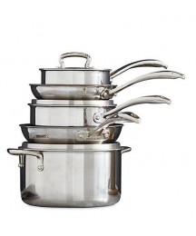 Biltmore® Stainless Steel 8 piece Cookware Set