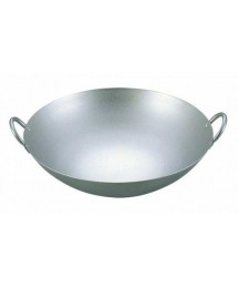 EBM Pure Titanium Ultralight Chinese Two-Handed Wok (thickness 1.2 mm) 36cm