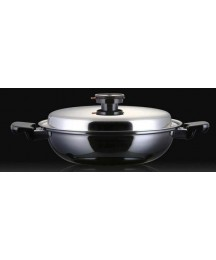 316Ti PLC WATERLESS STAINLESS HEALTH COOKWARE C SET