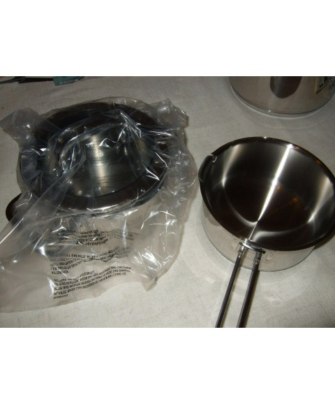 Stainless steel pot set WMF Function4 Germany 3 casseroles saucepan steaming ins