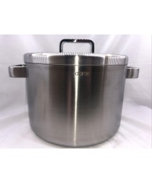 Atomy Medi-Cook 360 Stainless Steel All Five Ply 9L Pot with Lid Free Shipping!