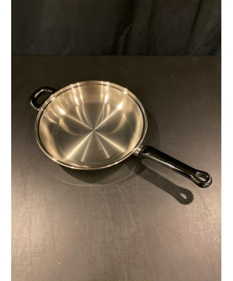 11 Pc-7 Ply PAN SET - WATERLESS COOKING - INDUCTION COMPATIBLE - STAINLESS STEEL