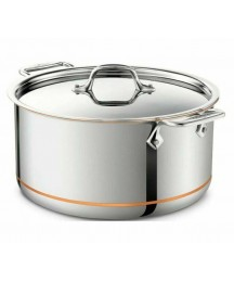 All-Clad 6508 SS Copper Core 8qt Stockpot - Stainless Steel