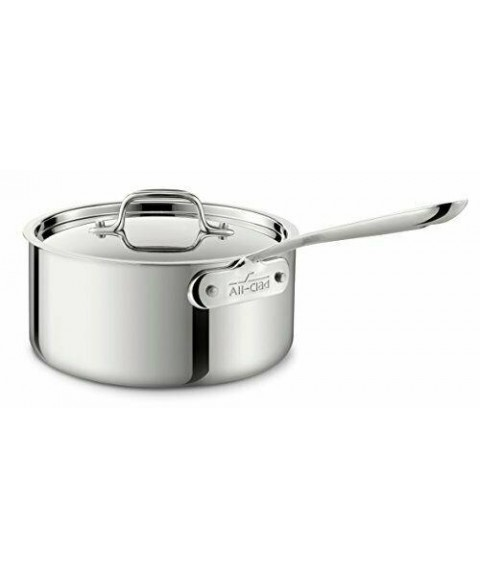 4203 Sauce Pan with Lid, 3-Quart, Silver