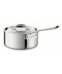 All-Clad D3 Stainless Steel 3 QT Sauce Pan Return