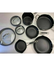 USED Simply Calphalon Easy System Nonstick, Set, 10-Piece
