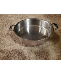 ALL CLAD 3 QT SAUTE PAN D5 Stainless 5-ply Cookware 11