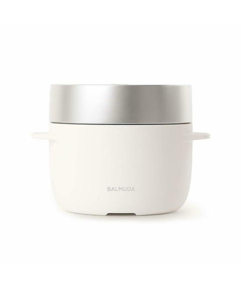 Barmuda 3-cooked electric rice cooker BALMUDA The Gohan K03A-WH  white