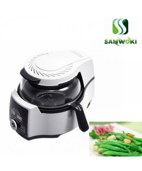 4.5L Intelligent food cooking machine automatic meat vegetable cooking pot multi