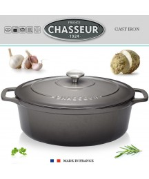 Chasseur - Oval Roaster 12 3/16in - Caviar