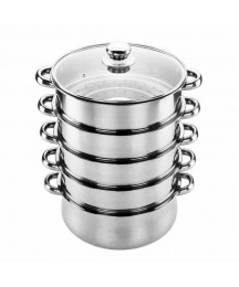 Kitchenware Pot Food Dish Steamer Tray Multi-layer Cookware Stainless Steel Sets