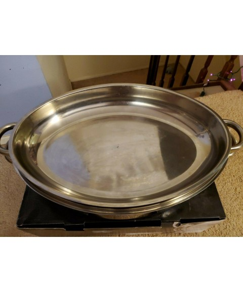 Professional Platinum Cooking System 16.5 in Oval Roaster