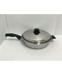 Cutco Cookware Waterless 5 Ply Stainless Steel Aluminum Core 11