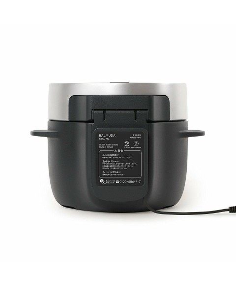 BALMUDA 3 Cooked Electric Rice Cooker The Gohan K03a-bk Black Ac100v From Japan