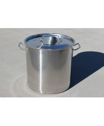 CONCORD 180 QT 18/10 Stainless Steel Stock Pot Brew Kettle w/ Triply Bottom