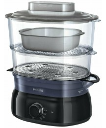 Philips Daily Collection HD9116/00 Steamer 2 Baskets 900W 169.1oz Black