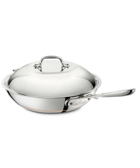 All-Clad 6412 SS Copper Core 12 inch Chefs Pan / Cookware - FACTORY SECONDS