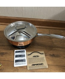 Copper Cookware Skillet Vintage Polaris Copper Cookware Made Norway Unused New