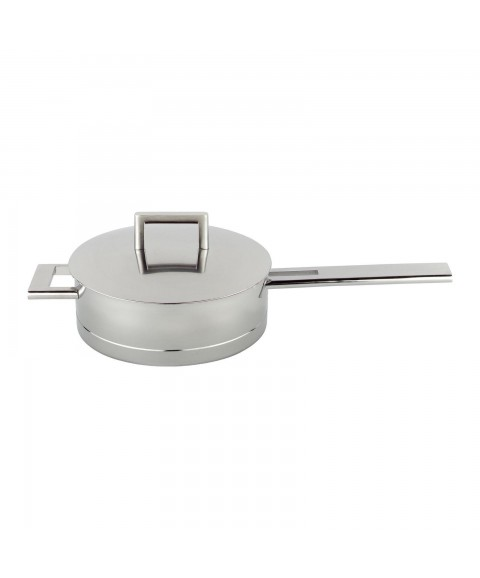 *New* DEMEYERE John Pawson Stainless Steel Oven Safe Imported SAUTE PAN w Lid