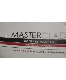 Brand New MasterClad Pro Series TI-3 7-piece 5 Ply Stainless Steel Cookware Set