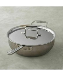 All-Clad d5 Stainless Steel Pan 6 qt