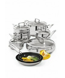 Biltmore® 13 Piece Belly Shaped Stainless Cookware Set