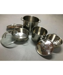 Royal Doulton Professional Cookware Stockpot 7 pieces set(18/10 Stainless Steel)