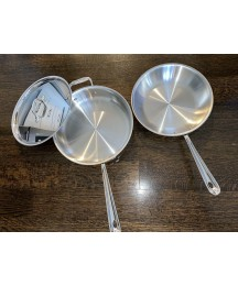 """All-Clad Cookware 3Qt Sauté And 10"""" Frying Pan"""