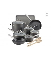 Anolon Professional Hard-anodized 15 Pieces Cooking Set