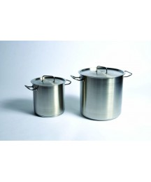 Utility Tanks with Lid (Stock Pot), Stainless Steel