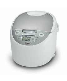 Tiger JAX-S18U-WY 10-Cup Micom Rice Cooker & Warming, Steaming & Slow Cooker